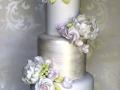 Satin-Peonys-and-pink-Roses-Cake
